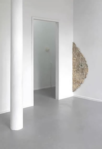 Kjersti Sletteland's wall based sculpture, Epidermis.